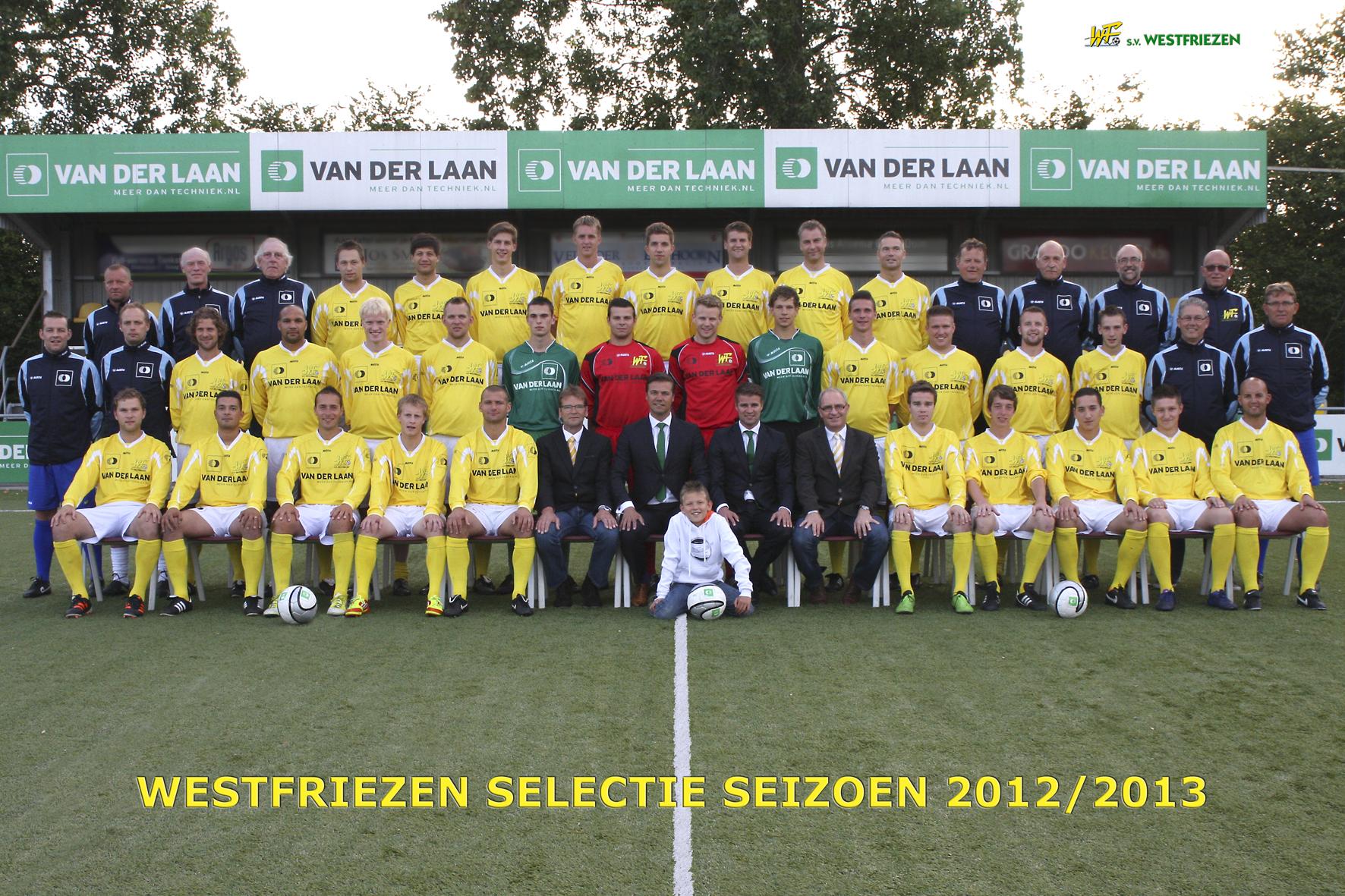 Voetbal Westfriezen 1