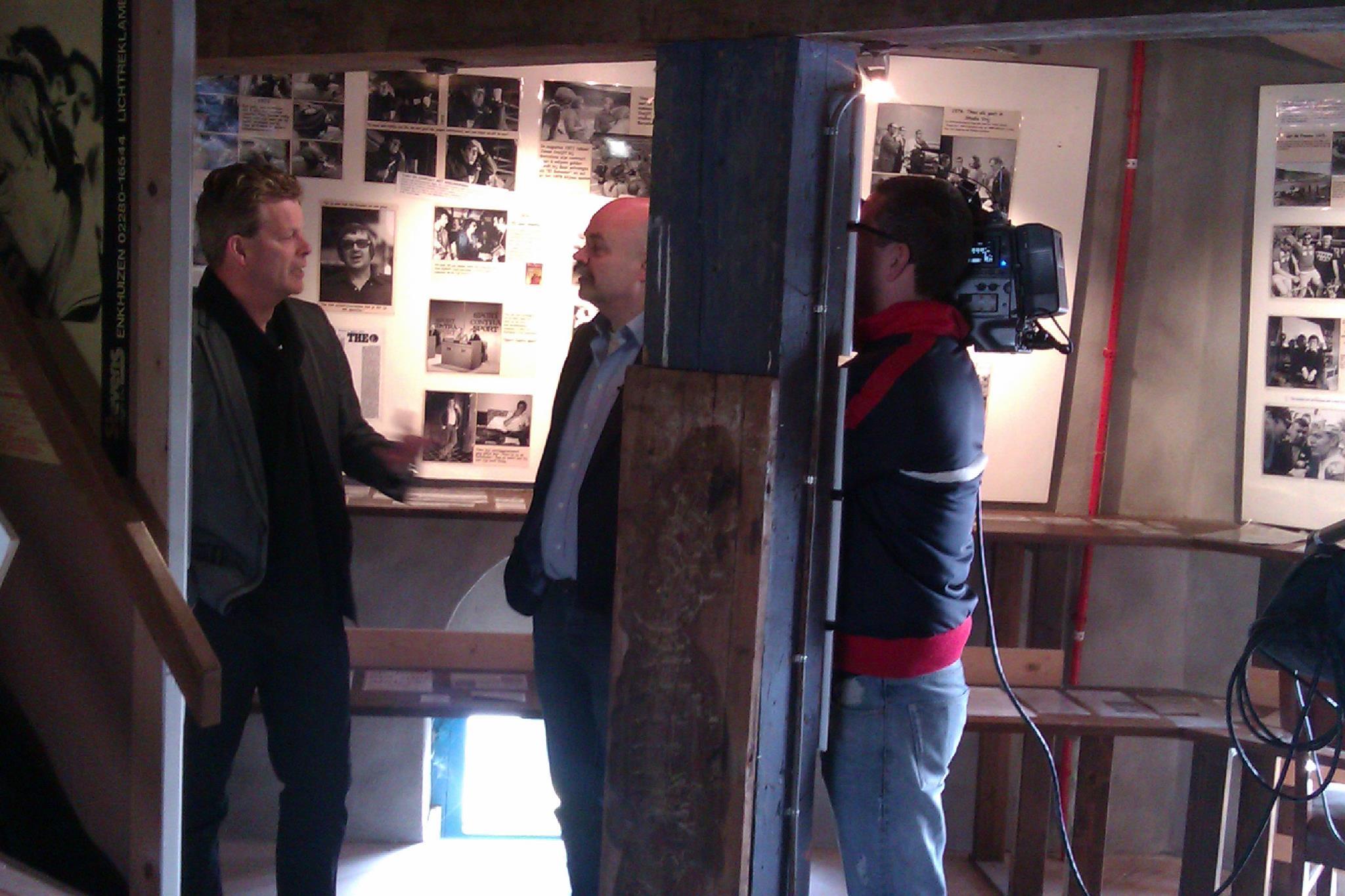 Theo Koomen Museum in NOS journaal van 20.00 uur
