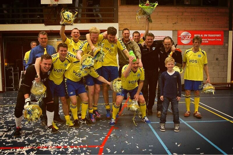 ZVV Zwaag pakt kampioenschap