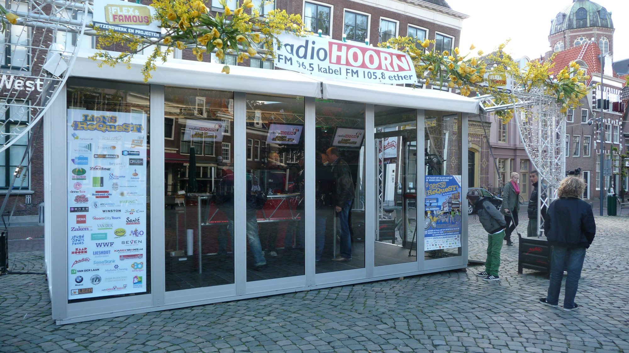 Lionsrequest met glazenhuis op Roode Steen Hoorn