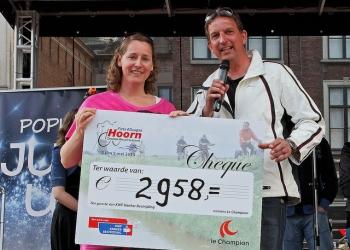 Fiets4Daagse levert € 2.958 op voor KWF Kankerbestrijding