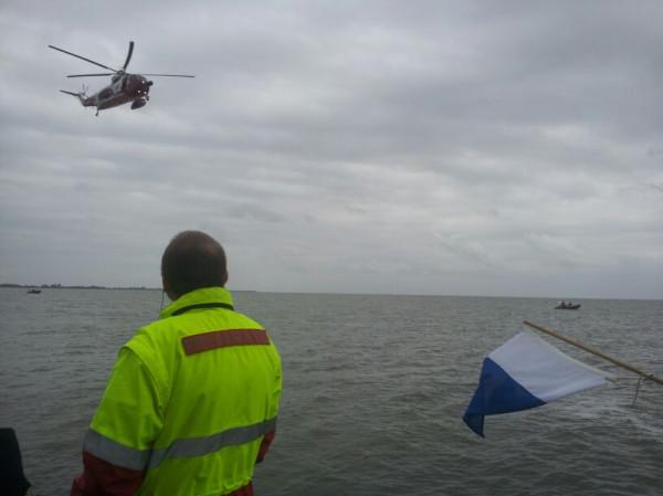 Grote zoekactie naar mogelijke drenkeling in haven Hoorn (update)