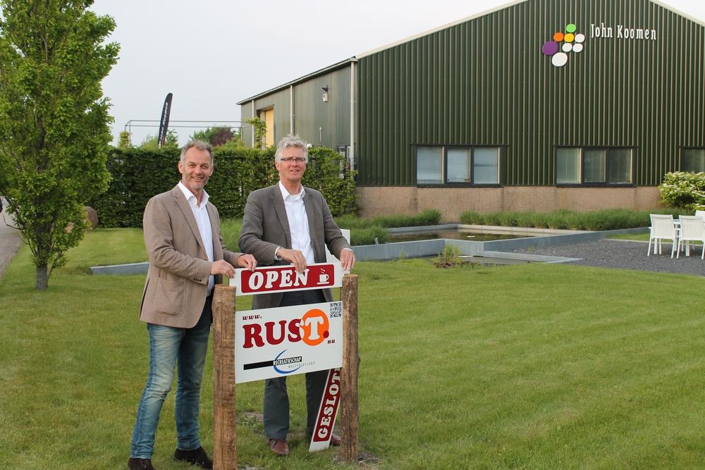 West-Friesland heeft zestien rustpunten op mooie plekken