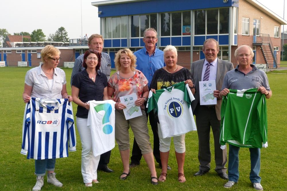 Fusie sportverenigingen Andijk gaan voor 'Sportpark Andijk'
