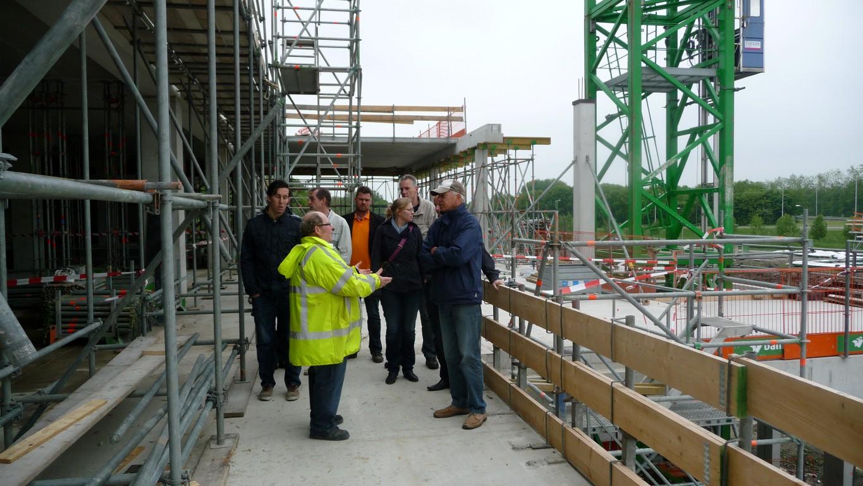 Dag van de Bouw; Foto's bouwplaats Van der Valk Hoorn