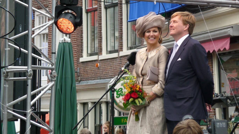 Foto overzicht Koninklijk Bezoek in Hoorn