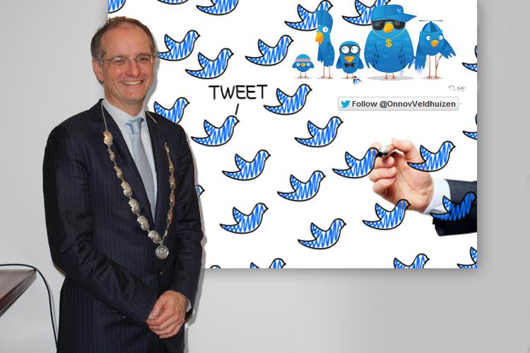 Help burgemeester Hoorn aan het twitteren!