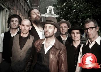 Band uit Heineken tv commercial op stadsfeesten