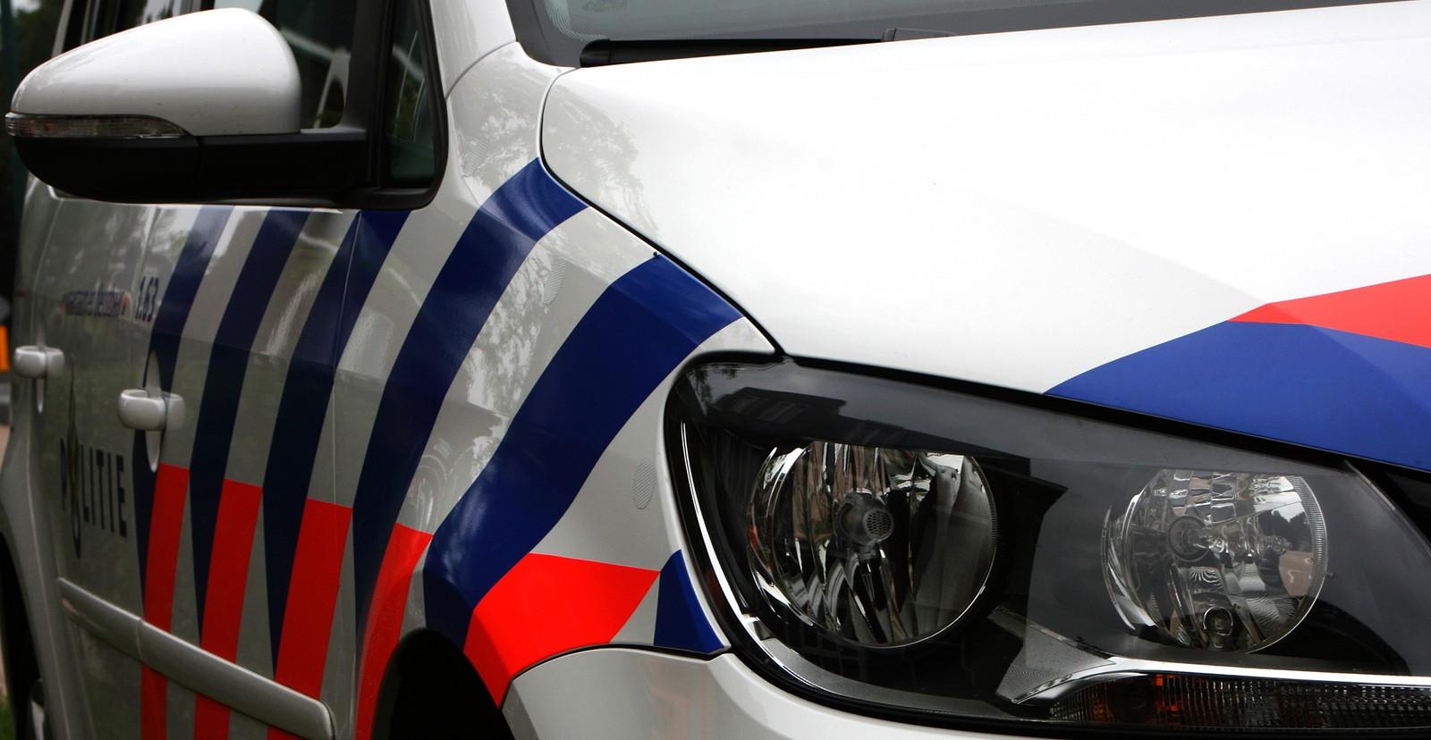 Politie achtervolging over Kerkstraat en A7