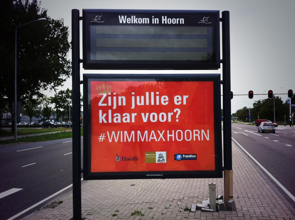 Afsluitingen en parkeren Hoorn met Koninklijk bezoek