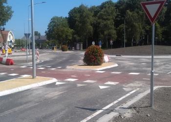 Rotonde in Wognum open voor verkeer