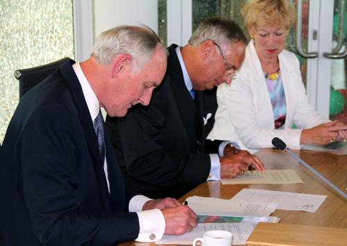Burgemeester Koggenland officieel beëdigd