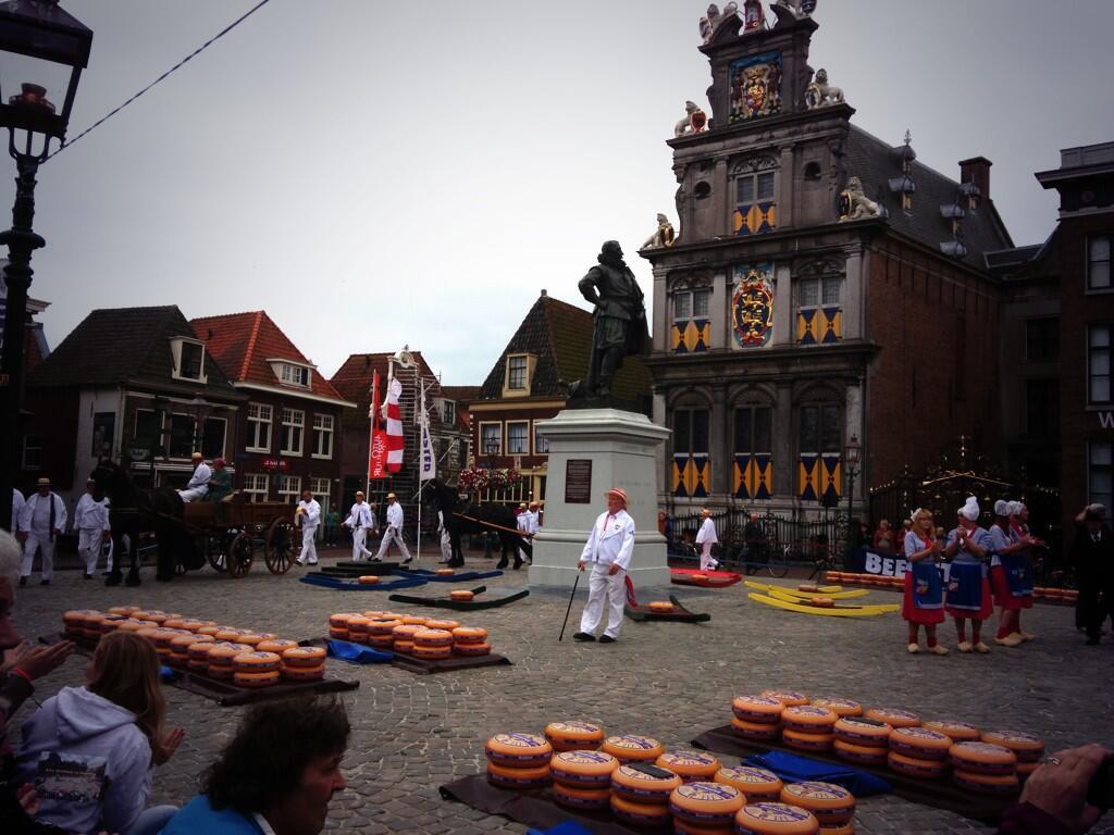 Kaasmarkt Hoorn donderdagavond geopend door Ben Saunders