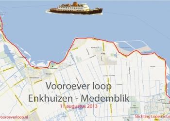 Zondag 11 augustus Vooroeverloop Enkhuizen-Medemblik