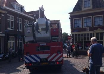 Melding binnenbrand op West in Hoorn