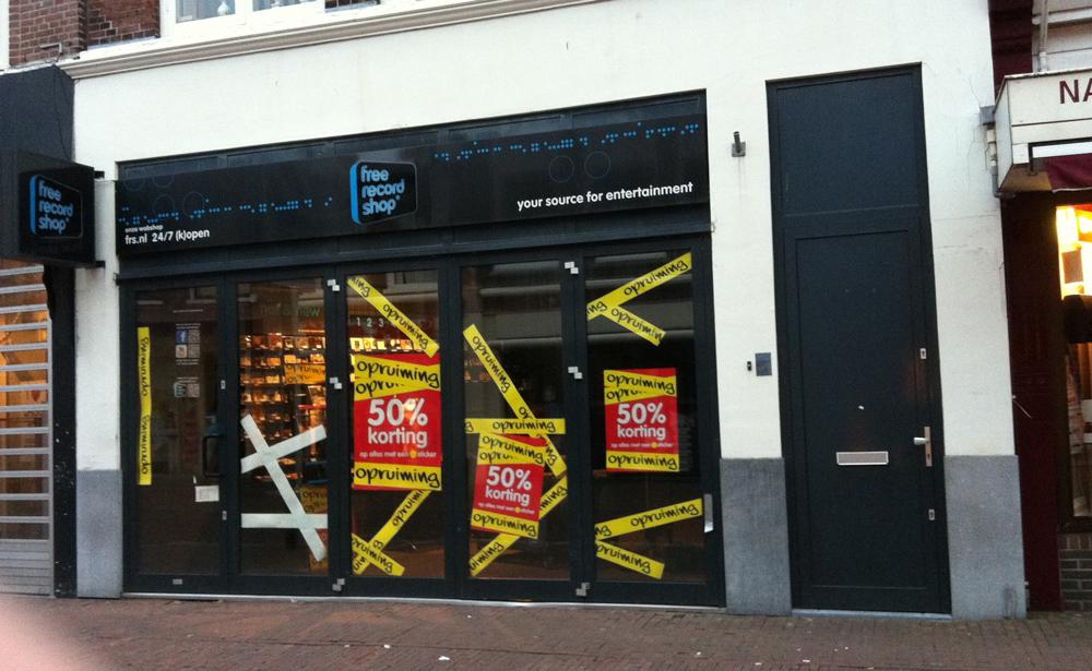 Free Record Shop Hoorn verhuist naar Alkmaar