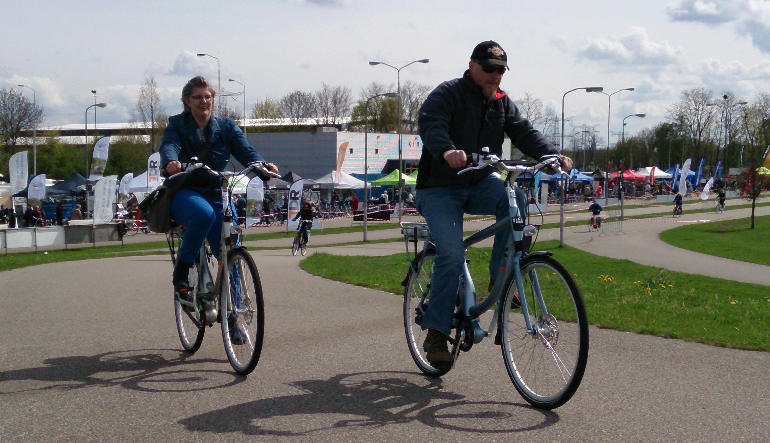Eerste E-bike toertocht met Theo de Rooij