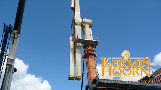Opbouw Kermis Hoorn 2013