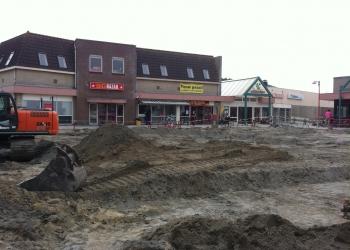Nieuwe winkelcentrum Wervershoof bijna klaar
