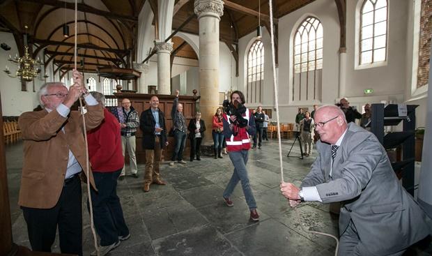 Restauratie toren Noorderkerk luidruchtig afgerond