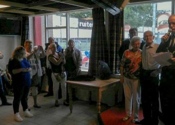 Koninklijke onderscheiding Bram Jongkees voor 52 jaar HCSV Zwaluwen '30