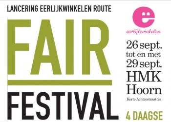 Fair Festival vierdaagse voor lancering Eerlijkwinkelen route in Hoorn