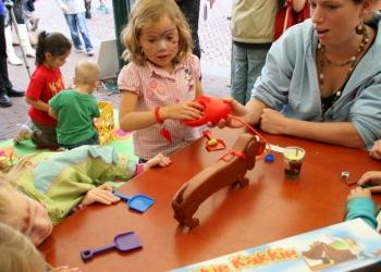 Kinderen neem de stad over tijdens Speelstad NL
