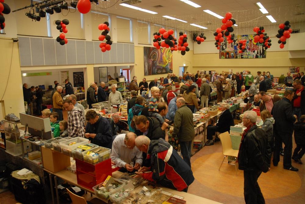 Modelspoorbeurs in Hoorn voor klein en groot