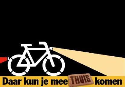 Controle fietsverlichting; wees zichtbaar