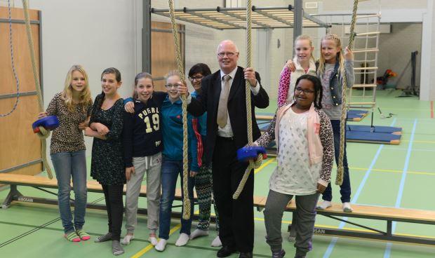 Nieuwe moderne sportzaal Tweeboomlaan geopend