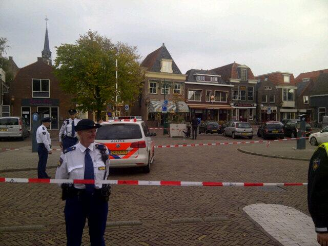 Man neergestoken bij coffeeshop dubbele buurt Hoorn (update)