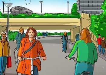 Hoorn kiest voor fiets- en wandelboulevard over Keern