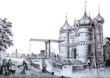 Gedenkteken voor oude Oosterpoort in Hoorn (update)