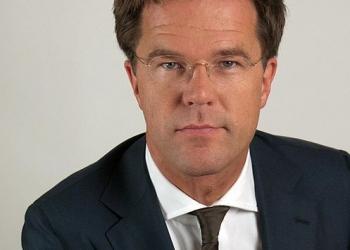 Minister President en VVD leider Mark Rutte 11 februari in Hoorn
