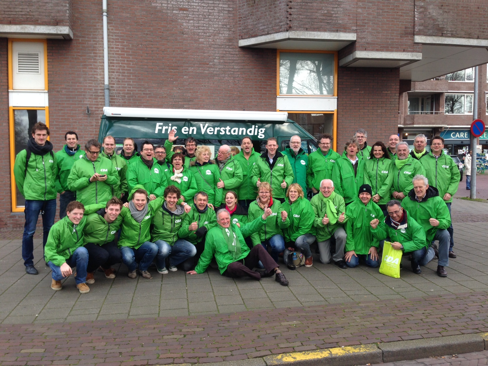 CDA start campagne met collega's uit West-Friesland