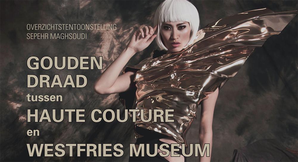 Meet and greet modeontwerper Sepehr Maghsoudi in Westfries Museum