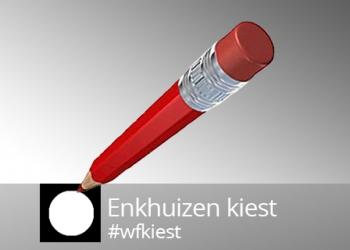 13 maart verkiezingsdebat met lijsttrekkers Enkhuizen
