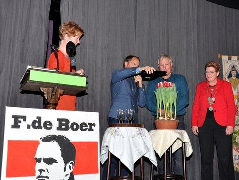 Frank de Boer doopt eigen tulp bij Westfriese Flora
