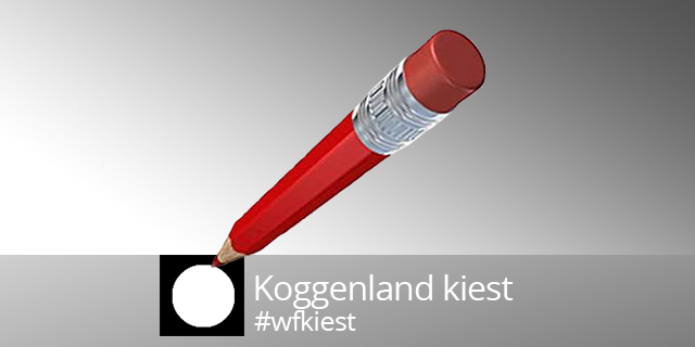 6 maart Lijsttrekkersdebat Koggenland in De Ridder St. Joris