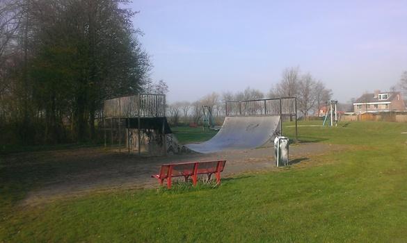 Westwoud ruilt Skatebaan in voor sportveldje