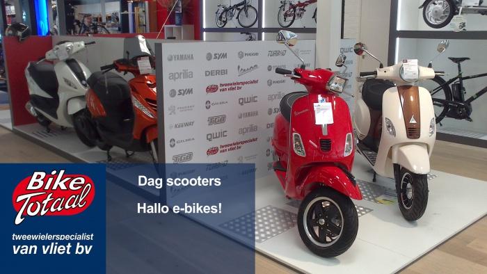 Van Vliet tweewielers stopt met scooters en kiest voor e-bikes