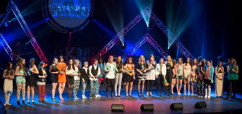 Twintig zangtalenten op Copernicus Songfestival in Het Park