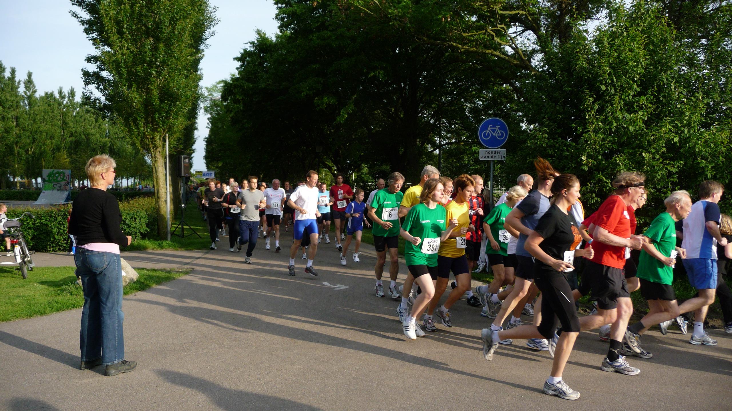 7 mei starten de 25e wijkenlopen in Hoorn
