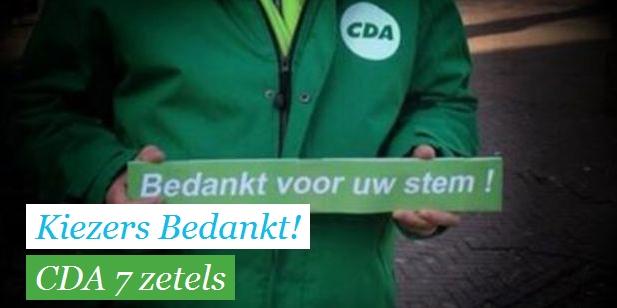 CDA kiest GB en D66 in coalitie Medemblik