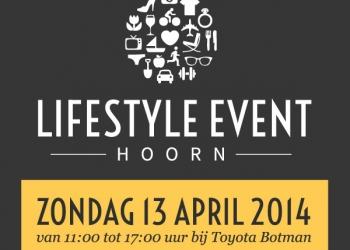 13 april tweede editie van Lifestyle Event Hoorn