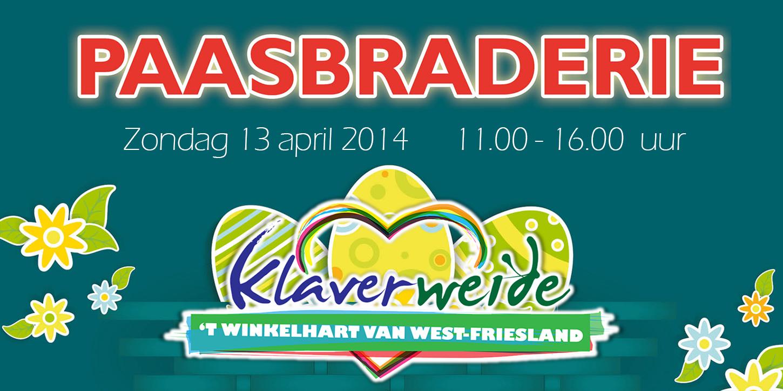 13 april Paasbraderie in Zwaagdijk-Oost