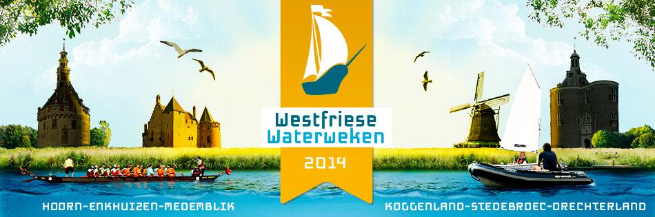 Westfriese Waterweken van 24 juli t/m 31 augustus