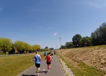 Zonnige dag voor 10e editie Hoorn Marathon