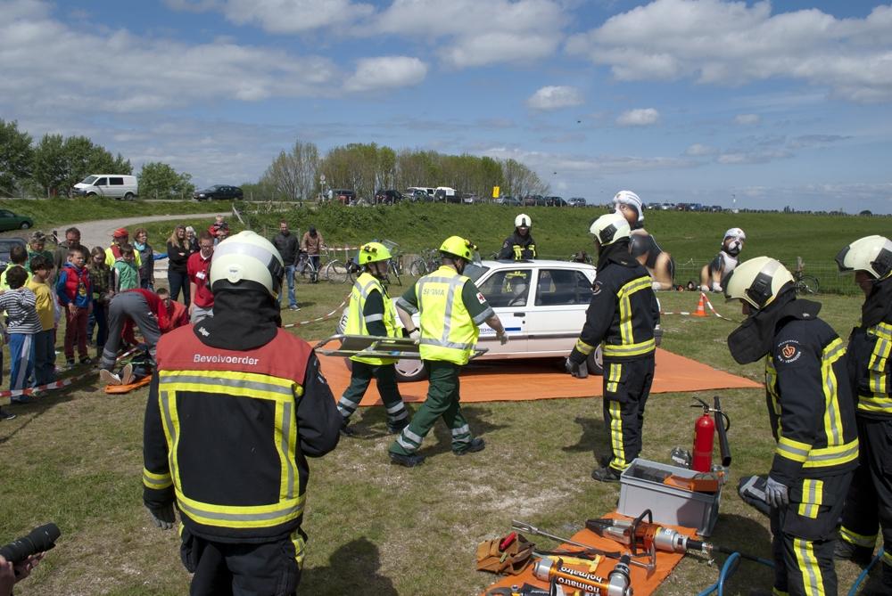 Reddingbootdag in Wijdenes groot succes