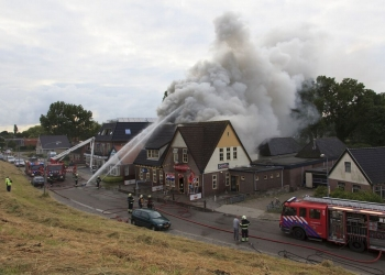 Brandstichting uitgesloten als oorzaak brand Cafe de Bierkaai